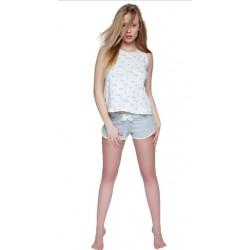 Piżama damska Bird Sensis Homewear ecru