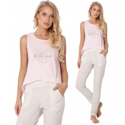 Piżama damska Priscilla Long Aruelle Homewear