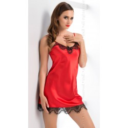 Koszulka nocna Molly Czerwona satyna Irall