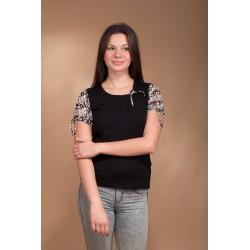 Bluzka Flora 2840 czarna