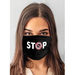 Maska ANS-S 115 Stop Black