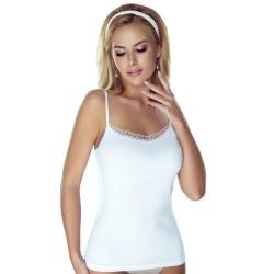 Koszulka damska Delfina Eldar bawełna Biała
