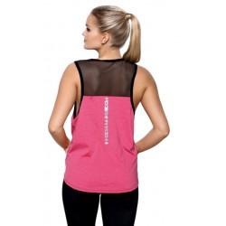 Koszulka damska Fitnes Joga Abel Różowa