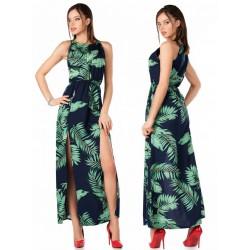 Sukienka długa wzorzysta Brianna Merribel