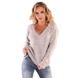 Sweter damski Natherin Grey Merribel