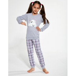 Piżama Cornette Kids Girl 594/132 Seals dł/r 86-128