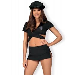 Kostium Police Uniform 4-częściowy