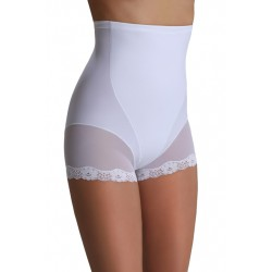Shorty korygujące wysokie Violetta Eldar Białe